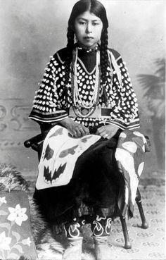 Nez Perce woman - no date