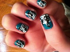 Kayleigh's music nails