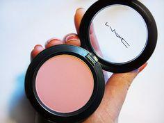 MAC Sheertone Blush in Pinch O' Peach my everyday blush