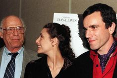 Vater, Tochter, Mann: Arthur Miller, Rebecca Miller und Daniel Day-Lewis 1996