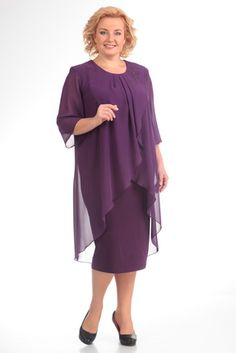 Платье Pretty 504 сиреневый