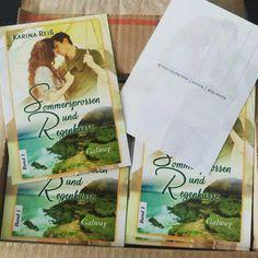 Die Cover-Postkarten sind heute gekommen