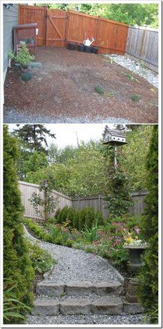 Cottage Garden - side path