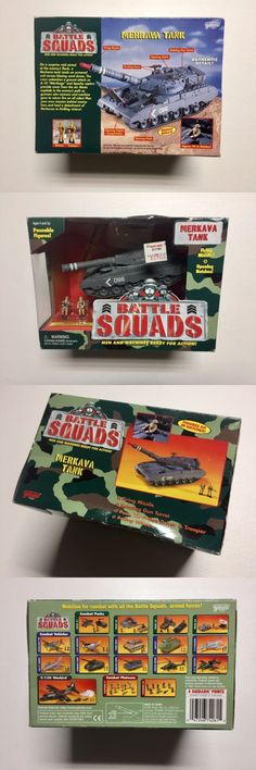Tanks and Military Vehicles 171138: Galoob Battle Squads Merkava, Micro Machines, Galoob Battle Squads Tank -> BUY IT NOW ONLY: $40.99 on eBay!