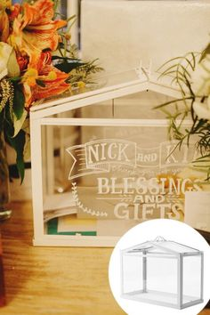 Ikea Hack Hochzeit SOCKER Gewächshaus Geldgeschenk