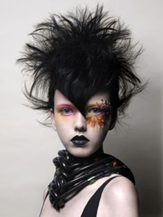 Dystopian Fashion, Hairstyle, Punk Girl, Supanova by Tim Harley. Love the styling on this so much!
