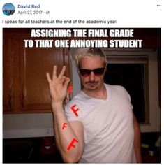 Good Guy Professor Became Memes to Relate to His Students