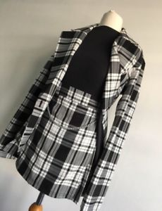 d9501f74d9 Clueless Dionne Costume | Black and White Tartan/Check Suit UK 12 | eBay