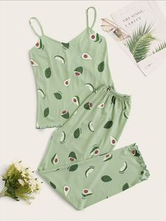 Cute Pajama Sets, Cute Pajamas, Pajamas Women, Girls Fashion Clothes, Teen Fashion Outfits, Girl Outfits, Gothic Fashion, Fashion Black, Fashion Fashion