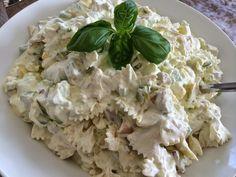Denne oppskriften har jeg laget i mer enn 10 ulike. Feta, Potato Salad, Good Food, Food And Drink, Potatoes, Dinner, Baking, Ethnic Recipes, Pizza