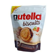 Бисквитное печенье с пастой Нутелла Biscuits Nutella Ferrero 304 гр, фото 1 Nutella Biscuits, Snack Recipes, Snacks, Chips, Food, Snack Mix Recipes, Appetizer Recipes, Potato Chip, Potato Chips