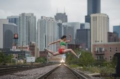 Dancers Among Us is a vast ongoing photography project led by Jordan Matter