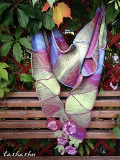 Ravelry: Scarf Petrin Hill pattern by Svetlana Gordon