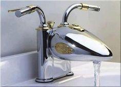 @Kalyn Roth for Tyson? Harley Davidson faucet #harleydavidsontrikemotorcycles