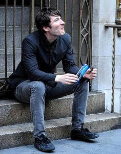 Adams Snack Attack Owl Citys Adam Young takes a snack break while helping to launch the new OREO Wonderfilled campaign in NYC