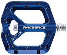 Ready for double-duty on your trail and downhill bike, Race Face AEffect Platform pedals feature weight-shaving shorter spindles, chromoly axles and bottom-loading hex traction pins. Available at REI, Satisfaction Guaranteed. Mountain Biking, Used Mountain Bikes, Bicycle Pedals, Bicycle Parts, Grease, Online Bike, Downhill Bike, Road Bike Women, Bike Store