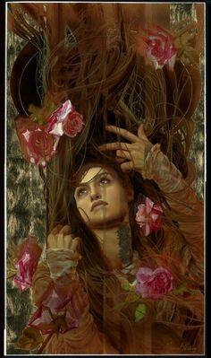 Seven Roses. Manuel Nuñez Art - Art