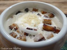 Soup Crocks, Gudrun, Chutney, Soup Recipes, Crockpot, Oatmeal, Beverages, Food And Drink, Low Carb