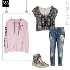 #mix_&_match for the absolute sporty look!