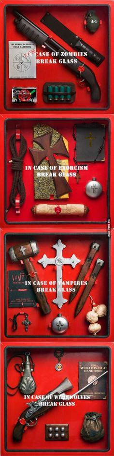 In case of emergency kits idea