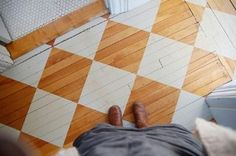 Painting the Floor -- Do You Dare? Click for some gorgeous patterns: http://thestir.cafemom.com/home_garden/123077/painting_the_floor_do_you?utm_medium=sm_source=pinterest_content=thestir