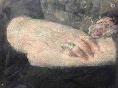Olga oznanska Hands detail