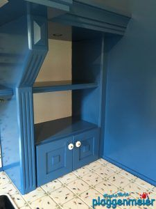 Auch in der Küche ist Lackierkunst gefragt - eine Küche kann ein individuelles Kunstwerk sein - gestaltet vom Malerprofi aus Bremen