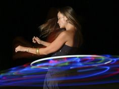 How to Make a LED HulaHoop, maybe someday I'll give it a whirl!