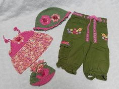 Toddler Infant Baby Girl Gymboree Pants with by CraftersHeartShop