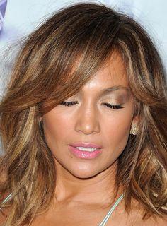 #makeup #JLo #eyemakeup #pinklips #gloss #perfect