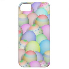 Colored Easter Eggs Background iPhone 5 Cases