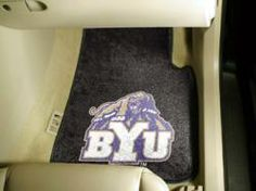 NCAA - Car Mats 2 Piece Front - Brigham Young University.  Buy it @ ReadyGolf.com