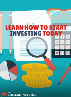 The College Investor's guide for millennials and young adults on how to start investing for the future, including retirement and more.