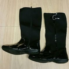 Mootsies Tootsies Black boot Size 7 1/2 M Excellent condition, only use one time mootsies tootsies Shoes Combat & Moto Boots