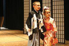 Kimono Show at the Japanese Festival, Missouri Botanical Garden