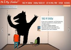 If you use a computer, surf the Internet, text your friends via a mobile phone or shop online – you leave a digital shadow. You want to know how big it is? Find out with our interactive tools whenever you cast a shadow.