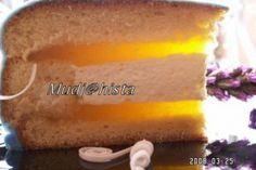Tort cu jeleu de pepene galben - Culinar.ro Sweet Desserts, Vegetarian, Cheese, Food, Essen, Meals, Yemek, Eten