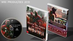 Polícia Em Poder Da Máfia - DVD 1 - ➨ Vitrine - Galeria De Capas - MundoNet | Capas & Labels Customizados