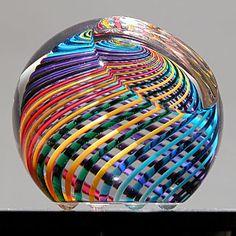 Light Opera - Paul Harrie - art glass, paperweights, vases, kaleidoscopes