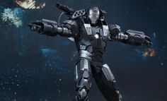 The Hot Toys War Machine Diecast Sixth Scale Figure is now available at Sideshow.com for fans of Marvel's Iron Man 2 and Don Cheadle.