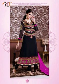 #ethnicwear #suits #designer #anarkali #dress Shop now @ http://aapkabazar.in/clothes