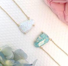 Kendra Scott Opal Necklaces