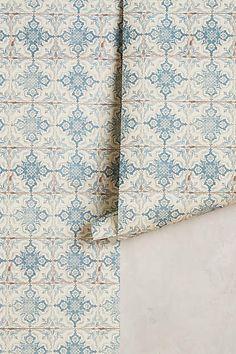 Kaleidoscopic Crest Wallpaper - anthropologie.com