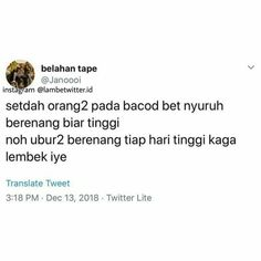 51 ideas for quotes indonesia kpop Funny Tweets Twitter, Twitter Quotes, Tweet Quotes, Mood Quotes, Quotes Lucu, Jokes Quotes, Funny Quotes, Postive Quotes, Cartoon Jokes