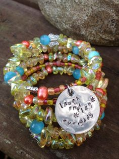 Laugh and Play Everyday Five Wrap Beaded Memory by DFInspirations, $40.00