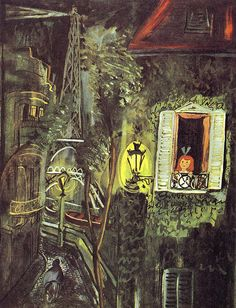 I want to live in Ludwig Bemelmans paintings....