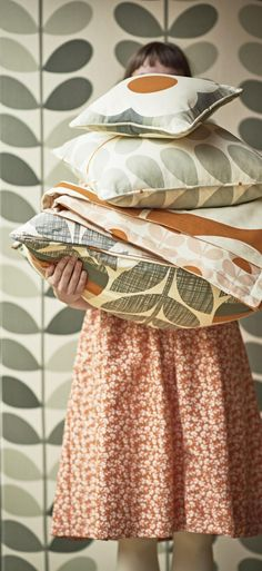 Gorgeous Orla Kiely fabrics in stunning colours!