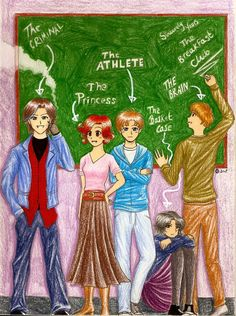 The Breakfast Club by bakablue08.deviantart.com on @deviantART