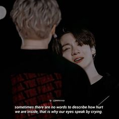 Bts Quotes, Daily Quotes, Words To Describe, It Hurts, Better Life, Bts Memes, Crying, Photo Editing, Movies