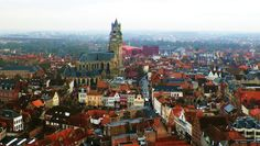 Europe town walk Vol 1 Bruges(Belgium)14 The view from Belfry New Edition